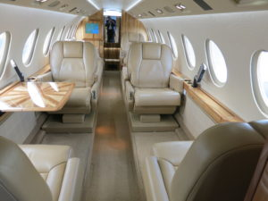 Dassault Falcon Jet beds